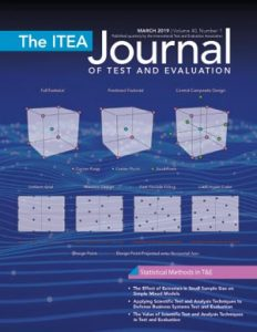 The ITEA Journal of Test and Evaluation - March 2019, Vol. 40, No. 1